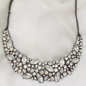 Diamond statement necklace